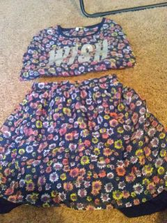 Skirt and top set! Size 14/16