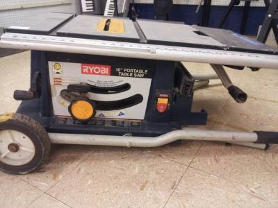 Ryobi 10 portable table saw