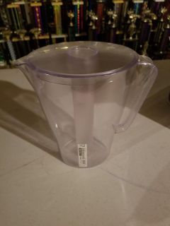 Brand new plastic pitcher with cooling wand attachment. Cross posted.