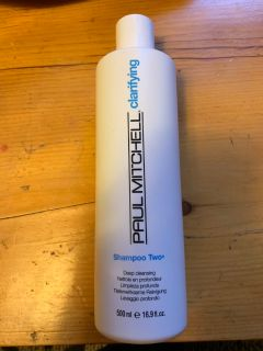 Paul Mitchell deep cleansing shampoo