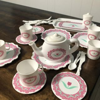 Tea cup and play set
