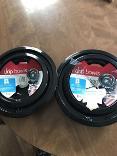 New stove drip pans 4 total