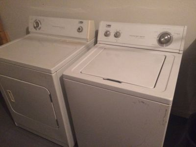 Estate washer & dryer
