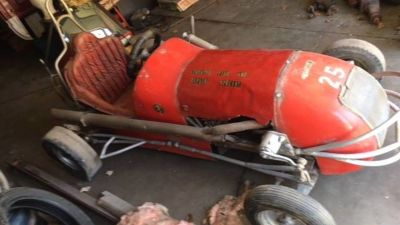 1960 King Midget Custom Racer for sale in Streator, IL.