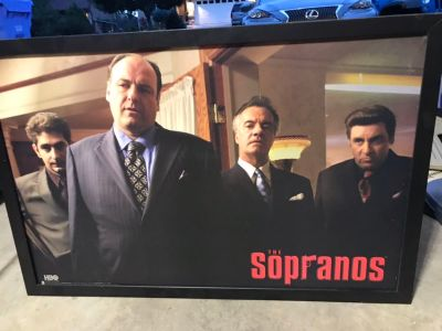 Sopranos Picture with Frame