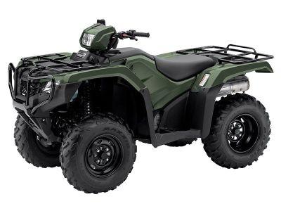 2017 Honda FourTrax Foreman 4x4 Utility ATVs Lakeport, CA
