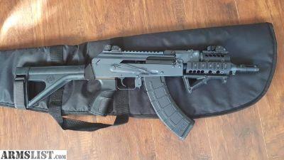 For Sale: Custom AK pistol 7.62 lots of upgrades