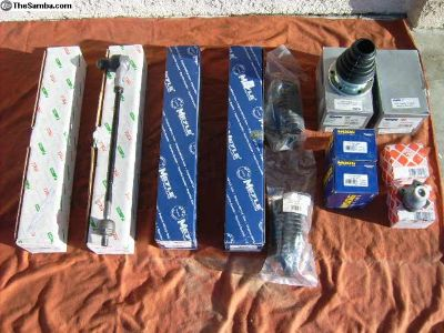 Jetta 1996 New Tie Rods, Ball Joints, Axle Boots,
