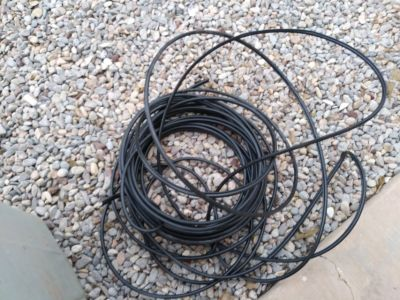 Coax cable, approximately 75 feet