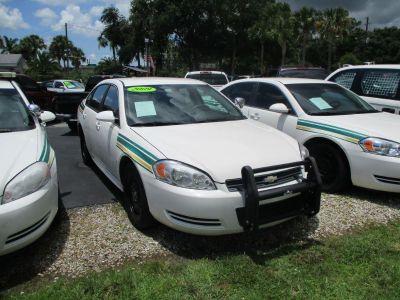 2009 Chevrolet Impala Police (White)
