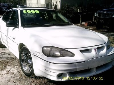 2000 Pontiac Grand Am GT (White)