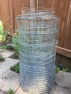 Never used Roll of fencing