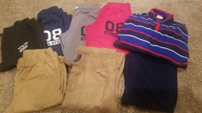Boys size 12/14 pants and sweat suit