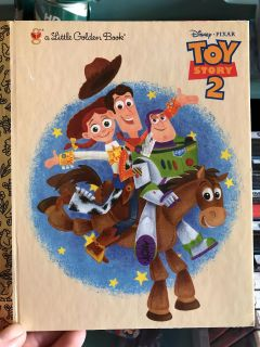 NWT Toy Story 2 Golden Book