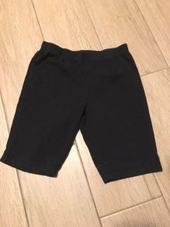 Girl s Black Knit Shorts -Sz M (7- by Faded Glory