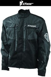 Buy Thor Phase Black Off-Road Dirt Bike Jacket MX ATV Dual Sport 2014 motorcycle in Ashton, Illinois, US, for US $119.95