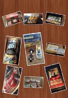 $100 Nascar Budweiser and Sports Memorabilia