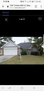 3bd/2ba home for sale (washer/dryer, new roof, surround sound system)