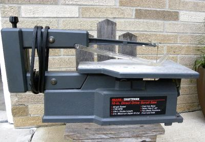 Sear Craftsman 16 inch Direct Drive Scroll Saw - Great CONDITION