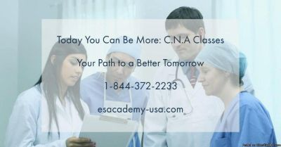 Become a Certified Nurse Aide in only 4 weeks ! join us now