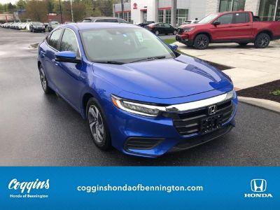 2019 Honda Insight (Aegean Blue Metallic)