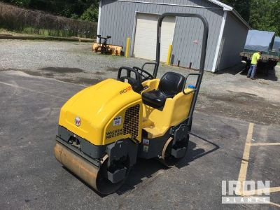 2018 (unverified) Wacker Neuson RD12 Vibratory Double Drum Roller