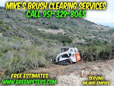 Brush Clearing & Weed Abatement Riverside
