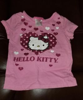 Hello kitty shirt 4t but fits 3t