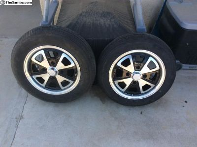 Porsche 2 liter rims. New pair