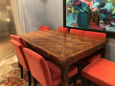 Antique French Country Dining Room Table