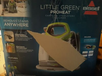 Bissell little green proheat carpet cleaner