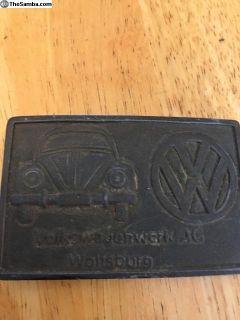 VW Belt Buckle