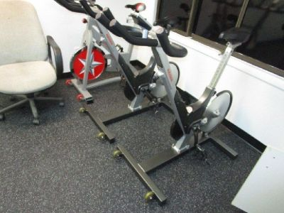 (5) Keiser M3 Stationary Bike with Mats RTR#8063294-03