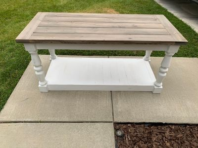Sofa Table / Entry Table (Pine wood)