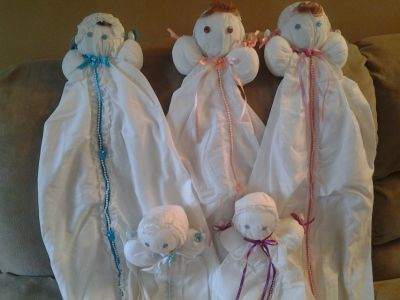 Baby Bed Dolls New Made by Crafter