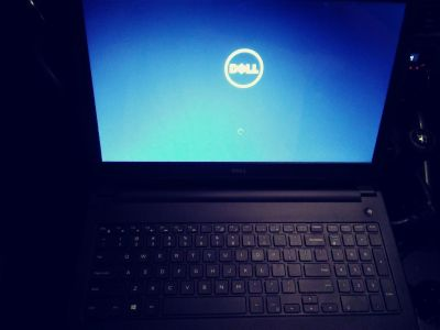 Brand new dell ispirion 15 laptop.