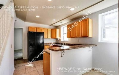 ~507 Collins Ave~ (21229-Irvington) 4 Bd/1.5 Ba Updated Semi-Detached w/Main Lvl Bedroom for Rent-To-Own $1,350.00/mo