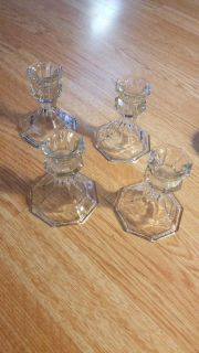 4-Candle stick holders