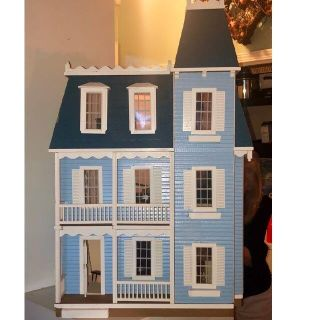 Townhouse Style Doll House/ Fully Furnished