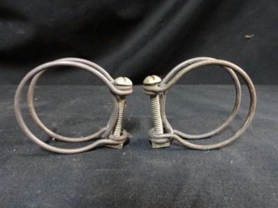 "Buy (2) VINTAGE 1930'S 40'S 50'S * NOS * WIRE GRIP HOSE 1-1/2"" CLAMPS * FORD * CHEVY motorcycle in Baltimore, Maryland, United States, for US $9.95"