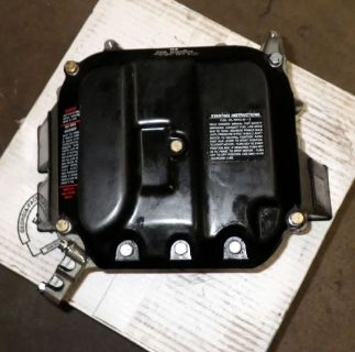 Sell Johnson Evinrude V4 Outboard Motor Air Silencer cover base 329611 325335 1984-98 motorcycle in Minneapolis, Minnesota, United States, for US $41.75