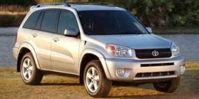 2004 Toyota RAV4 Base (Silver)