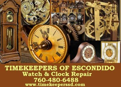 WATCH REPAIR & CLOCK REPAIR~~Watch Batteries ~ House Calls & More
