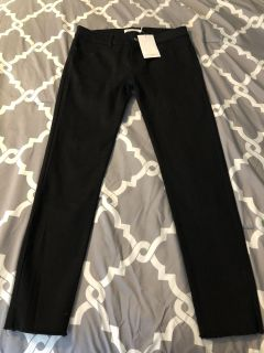 New with tags black crop leg jeans