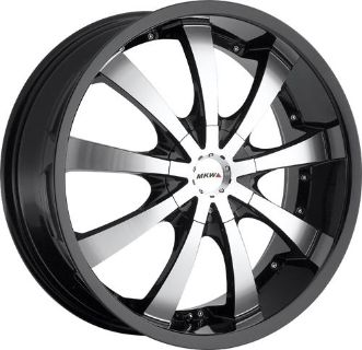"Buy 16"" 17"" 18"" 20"" MKW Wheels Black Ford Expedition Explorer F150 F 150 5lug 6lug motorcycle in Victorville, California, US, for US $599.00"