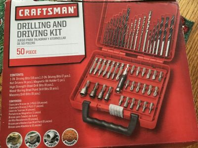 Craftsman 50 piece bit and driver set