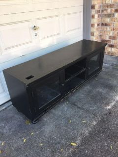 Tv stand, some wear and tear, solid wood