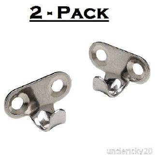 Sell SeaChoice Pair (2) Stainless Steel Utility Hooks Light Duty Lashing Wall Hanging motorcycle in Valley Head, Alabama, United States, for US $6.67
