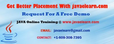 Online Training And 100% Placement on Java/J2EE - Free Demo