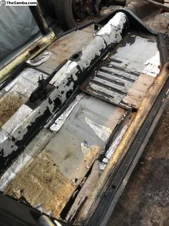 1970 Beetle Chassis New Floor Pans w/Title